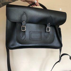 Cambridge satchel company genuine leather bag